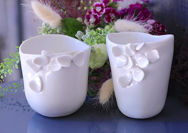 Tasse éclosion en porcelaine