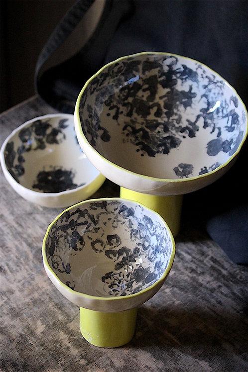 Corbeille en céramique Pissenlit Souffle