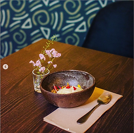 Bol en grès - Restaurant Terre Emeraude