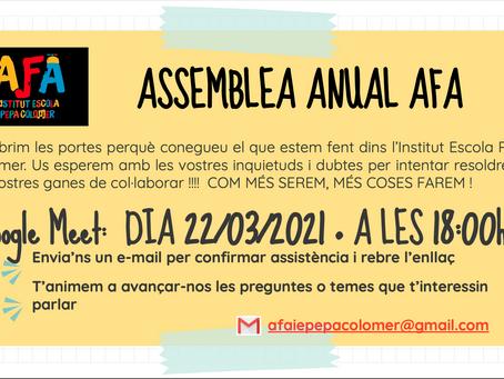 Assamblea anual AFA