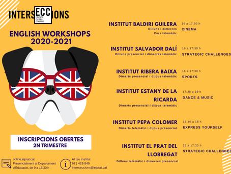 ¡English Workshops! per l'alumnat d'ESO