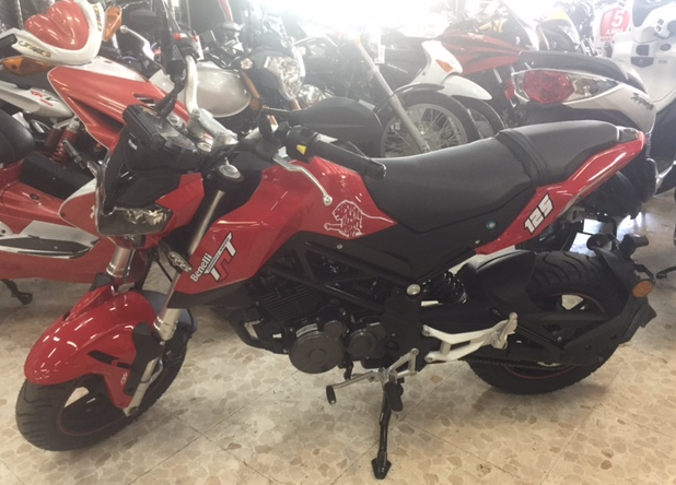 BENELLI TNT 125 cc