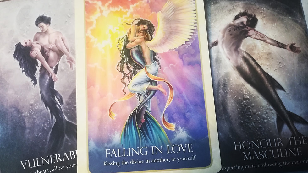 Twin Flame Oracle Card mini Reading