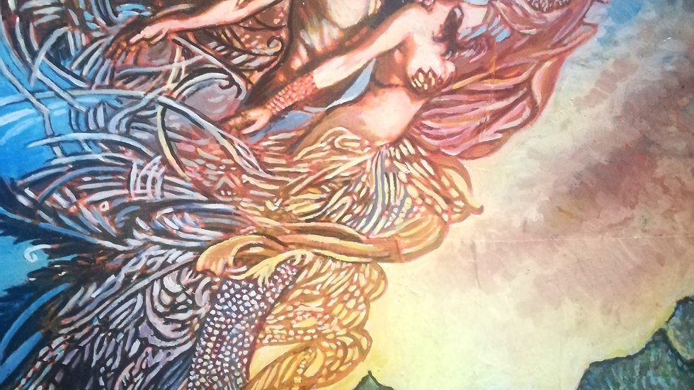 Channelled Painting and Message from your Twin Flame