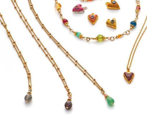 Satellite Necklaces