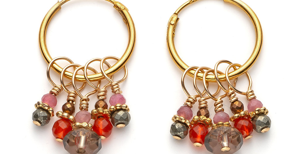 Autumnal Cluster Hoops