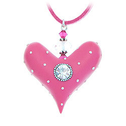 Pink Chunky Heart