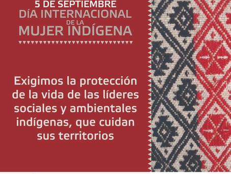05 de Septiembre. Día Internacional de la Mujer Indígena