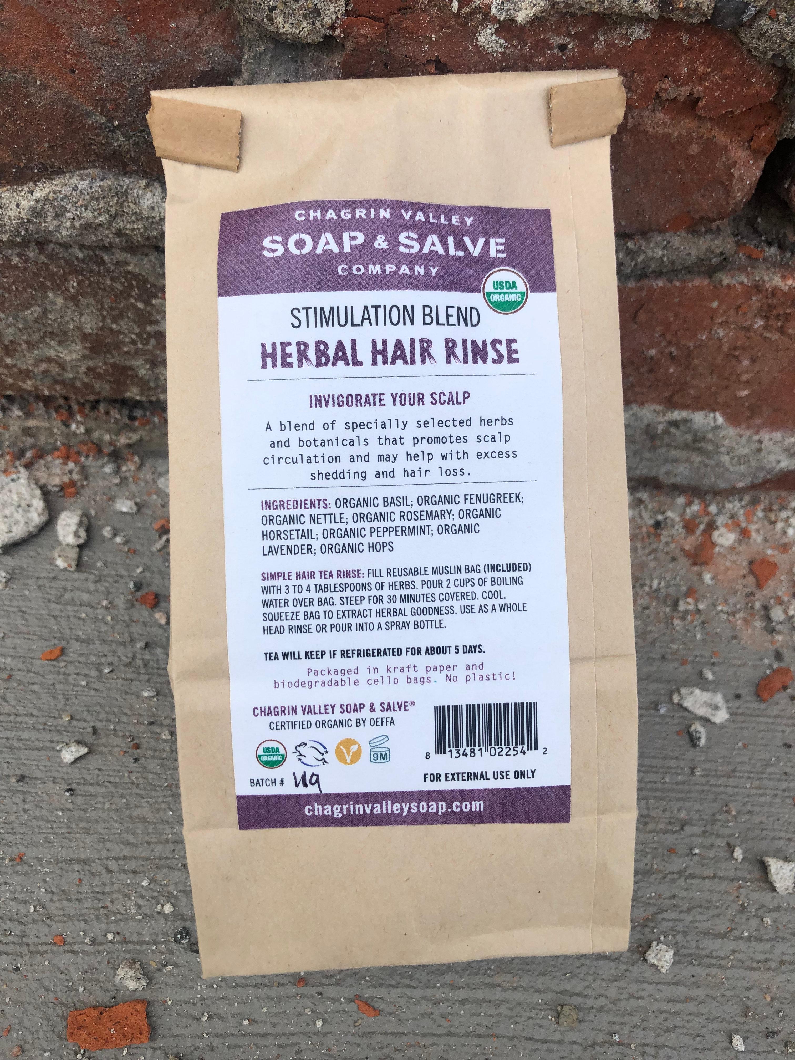 Chagrin Valley Stimulation Blend Herbal Hair Rinse