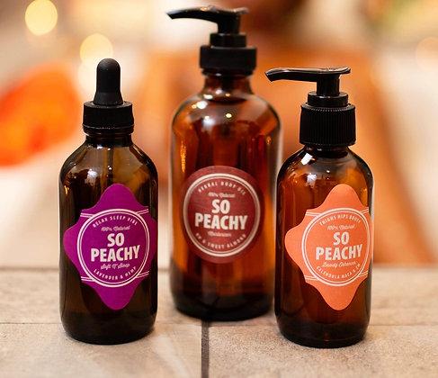So Peachy Body Oil Bundle Pack