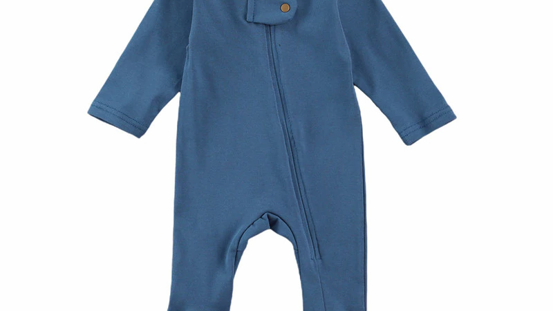 Organic Cotton Romper Sleep and Play All Colors