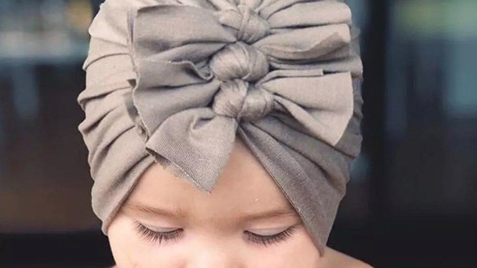 Organic Cotton Triple Bow Turban
