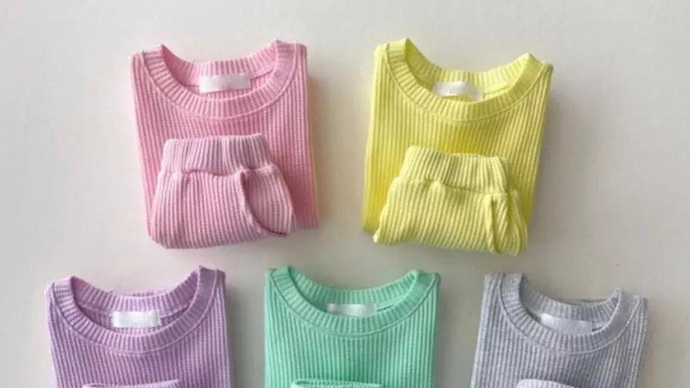 T-shirt_Shorts Summer Set