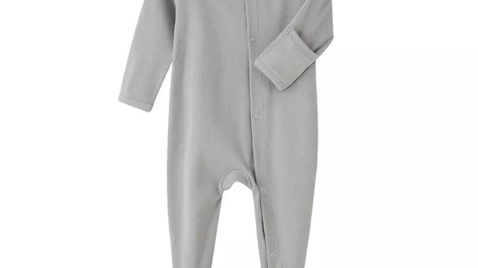 Classic Grey Unisex Organic Cotton Jumpsuit