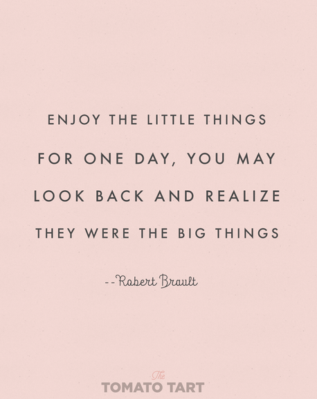 Podcast #5: ENJOY THE LITTLE THINGS!
