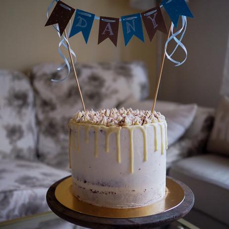 Čokoládový dort s vanilkovým mascarpone