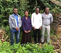 POPOF university graduates with John Kahekwa