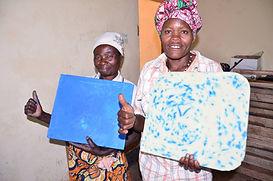 PWEG ladies make two sorts of 'KIFEBE'