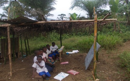 Despite the difficulties, there is always hope: a view of a class in a village