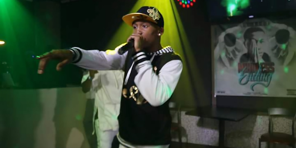 Al'Nicx Performing Live For The Kings of City Tour -Fayetteville