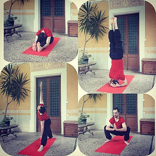 Some asanas from my practice today ;) En