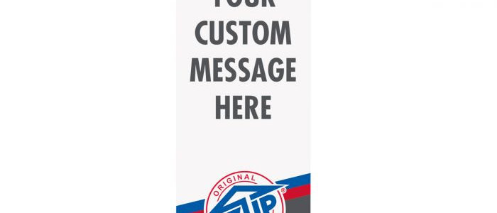 "Deluxe Roll-Up Banner 33"" x 78"""