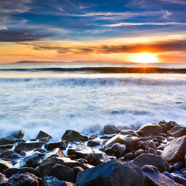 Pitas Point Sunset