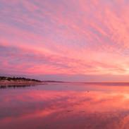 Del Mar Pano Sunset