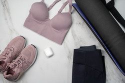 Canva - Womens Pink Bra on White Table.j