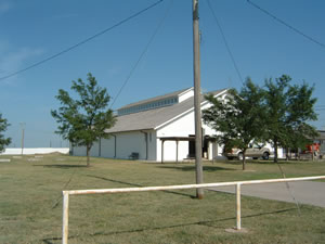 Exhibit Building at Fairgrounds