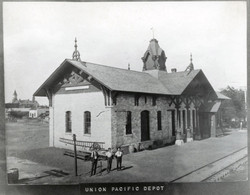 WaKeeney Train Depot