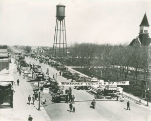 Downtown WaKeeney 1925