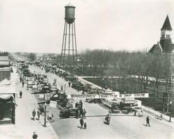 Downtown WaKeeney 1925