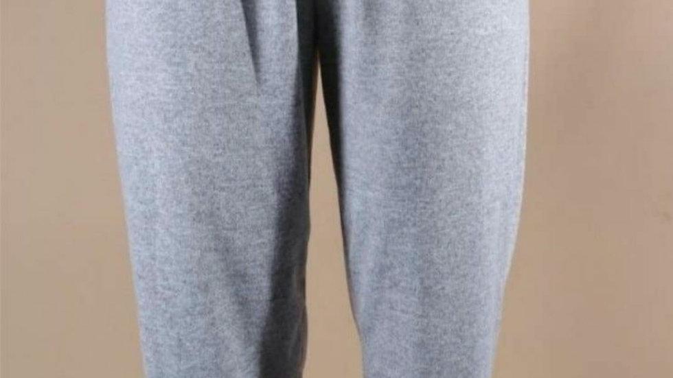 Glight gray joggers- Plus