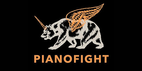 Logo for PianoFight's Short-Lived Festival 2016.  Lorraine Midanik's play Freedom of Speech was included.