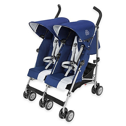 Maclaren Twin Triumph double umbrella stroller