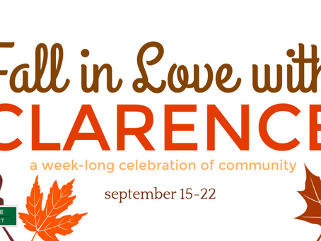 Celebrate Autumn at 'Fall in Love with Clarence'