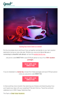 Subject Line: 💕This Valentine's Day, choose a trip💕