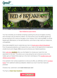 Subject Line: Customize your Ireland vacation!