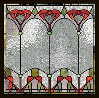ויטראז בעיצוב קלאסי בחלון בדירה בכפר סבא