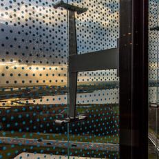 מלון פלטשר אמסטרדם. סינון קרני השמש.