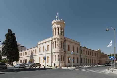 מלון סרגי בירושלים באזור מגרש הרוסים.