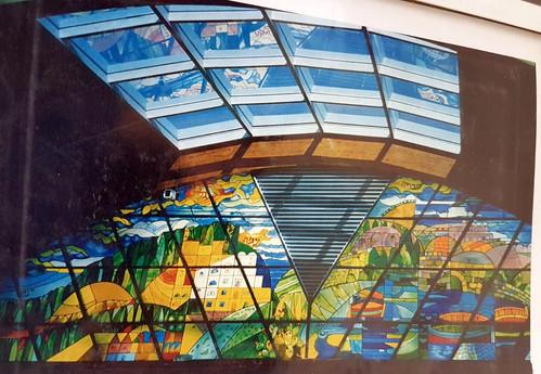 ויטראז' קלאסי בקניון אילון, בשילוב פרטים ציוריים