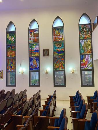 12 השבטים בבית כנסת באשדוד