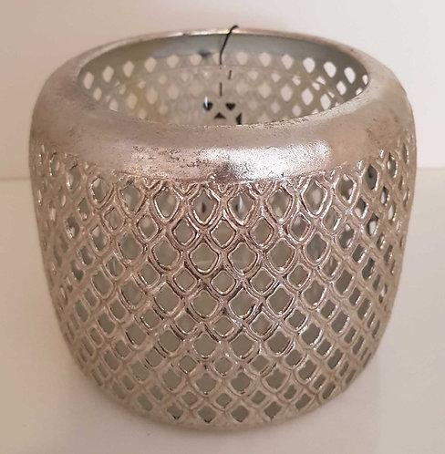 Photophore cage metal argent