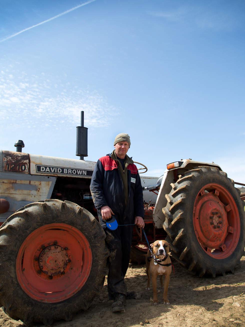 Greg Smith & Ernie the dog