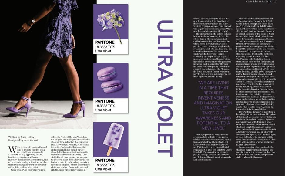 Coulture Magazine/ Page Design