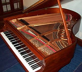gorgeous Steinway M grand piano musical instrument