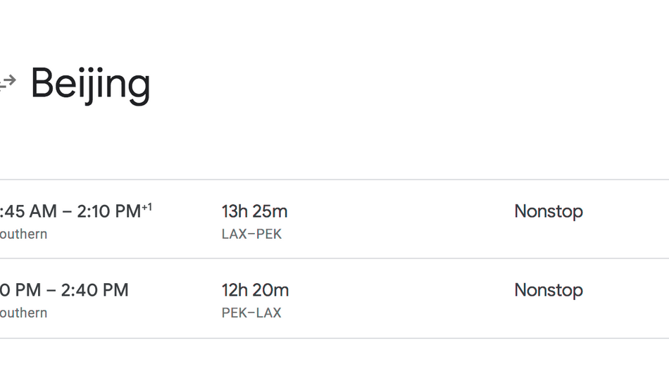 Great 300$ Roundtrip Fare US to China non-stop on AA/UA! Availability Wide Open.