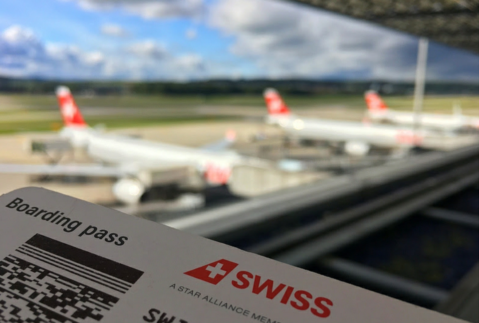 The fantastic Swiss Zurich lounge
